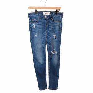 Hollister Distressed Skinny Denim Jeans